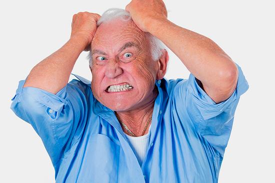 Бредовые расстройства пожилых людей