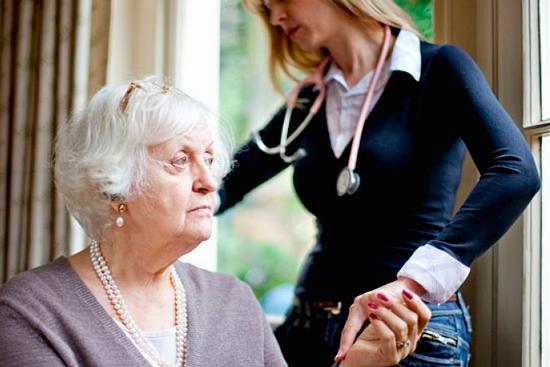 Депрессия у пожилых людей