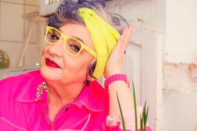 Модная украинская бабушка