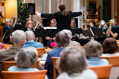 Финский оркестр бабушек