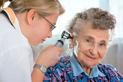 Нарушение слуха у людей престарелого возраста